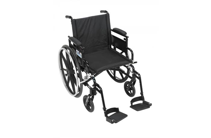 Viper Plus Gt Wheelchair With Flip Back Removable Adjule Arm