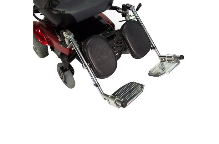 Power Wheelchair Elevating Legrest Bracket With Hemi Ing