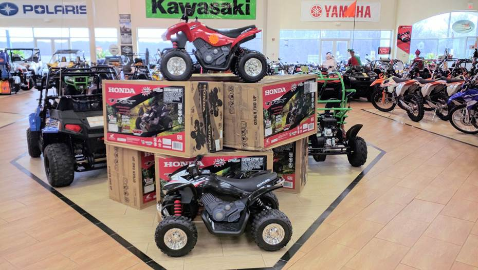 HONDA ELECTRIC ATVS - ON SALE $259
