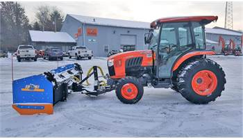 2016 L6060HSTC w/ Zuidberg Front Hitch and 9' Kage Plow