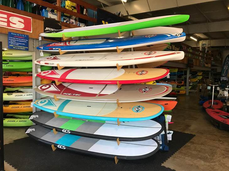 Stand Up Paddleboards On Display 1