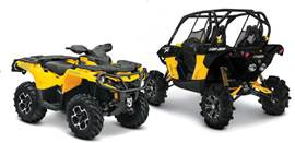 atv and side x side