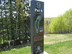 ridgeview marker for hole09