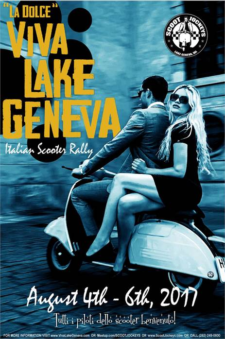 Viva Lake Geneva Scooter Rally 2017