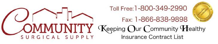 Contracted Insurances