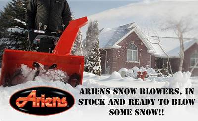 ariens snowblowers