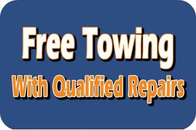 Free Towing with Repairs