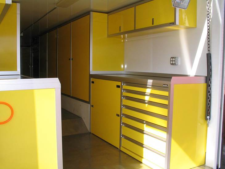 cabinets storage pin nose pinterest trailer cabinet enclosed