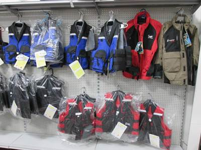 Jackets and Life Vests