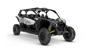 2018 Maverick™ X3 MAX Turbo - Hyper Silver & Yellow