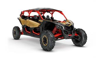 2018 Maverick™ X3 MAX X™ rs Turbo R - Gold & Can-Am Red