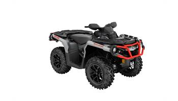 2018 Outlander™ XT™ 650 - Brushed Aluminum & Can-Am Red