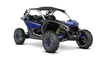 2020 Maverick™ X3 X™ rs Turbo RR Silver, Blue & Green