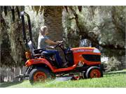 Stock Image: Mid-Mount Mower Deck on BX2370