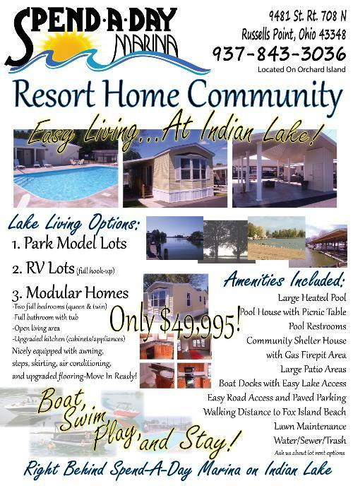 An Advertising Image of Resort Home Community