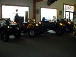 One of Our ATV Displays