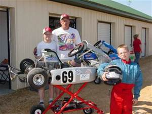 Dillon, Mike, Chris and Tim Morley