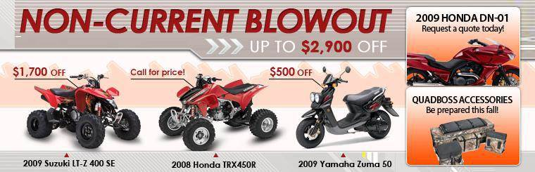 Get up to $2,300 off at World of Wheels' Non-Current Blowout.