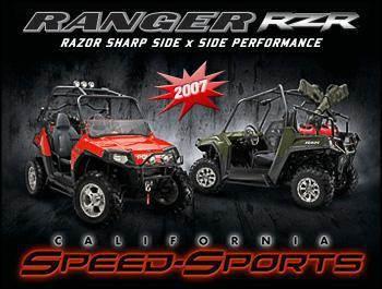 Polaris Ranger RZRs