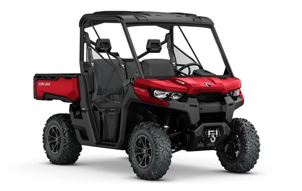 Do the work then enjoy the ride! Can-Am Defender XT