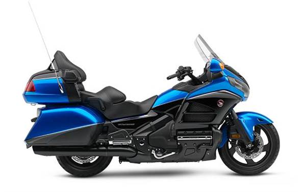 2017 honda gold wing audio comfort navi xm abs - ultra blue for