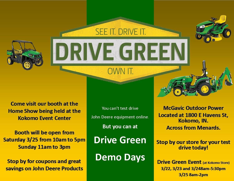 Drive Green Template