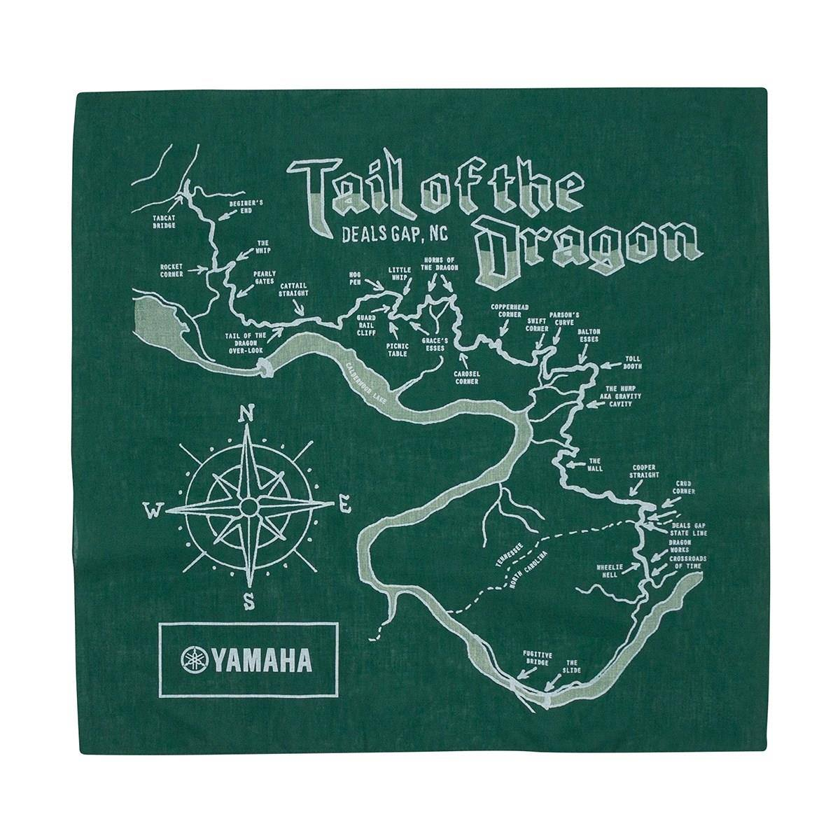 Us 129 Tail Of The Dragon Bandana For Sale In Newport News Va - Us-129-tail-of-the-dragon-map