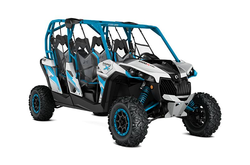 2016 Can Am Maverick Max X Ds Turbo 1000r Silver Blue