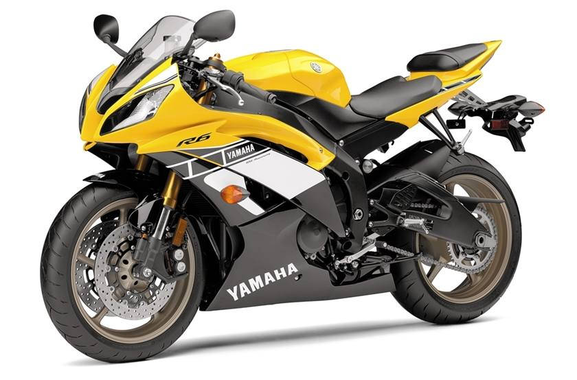 2016 Yamaha Yzf R6 60th Anniversary Yellow