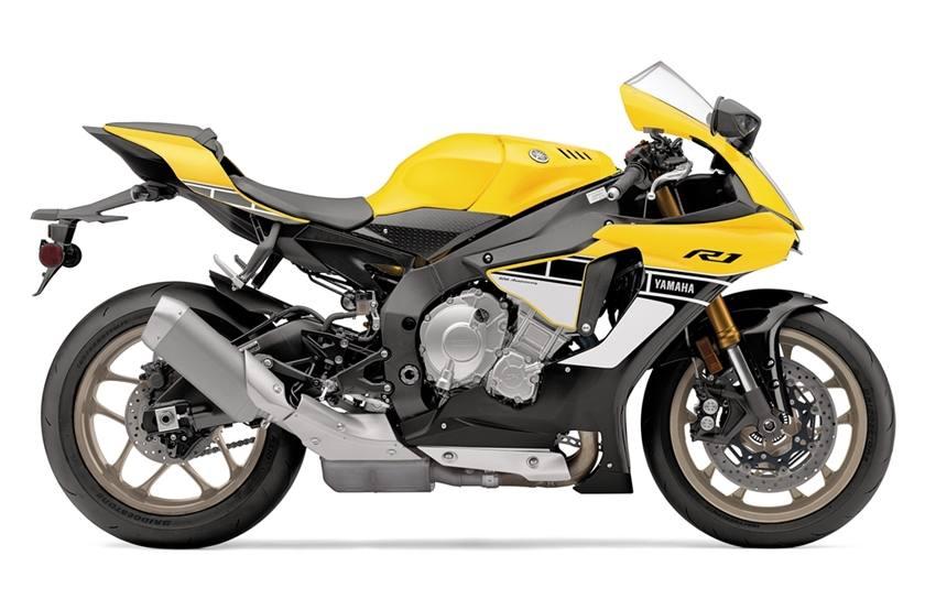 2016 Yamaha YZF‑R1 - 60th Anniversary Yellow