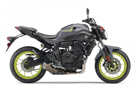 2016 Yamaha FZ07 1