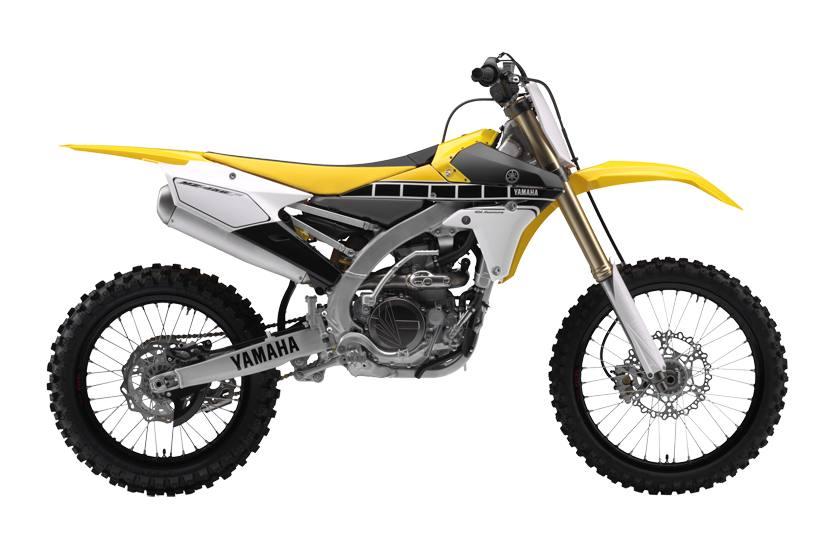 2016 Yamaha Yz450f 60th Anniversary Yellow Black