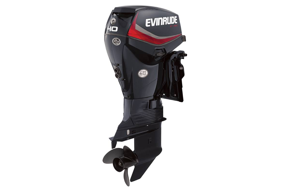 2016 Evinrude 40 HP 20