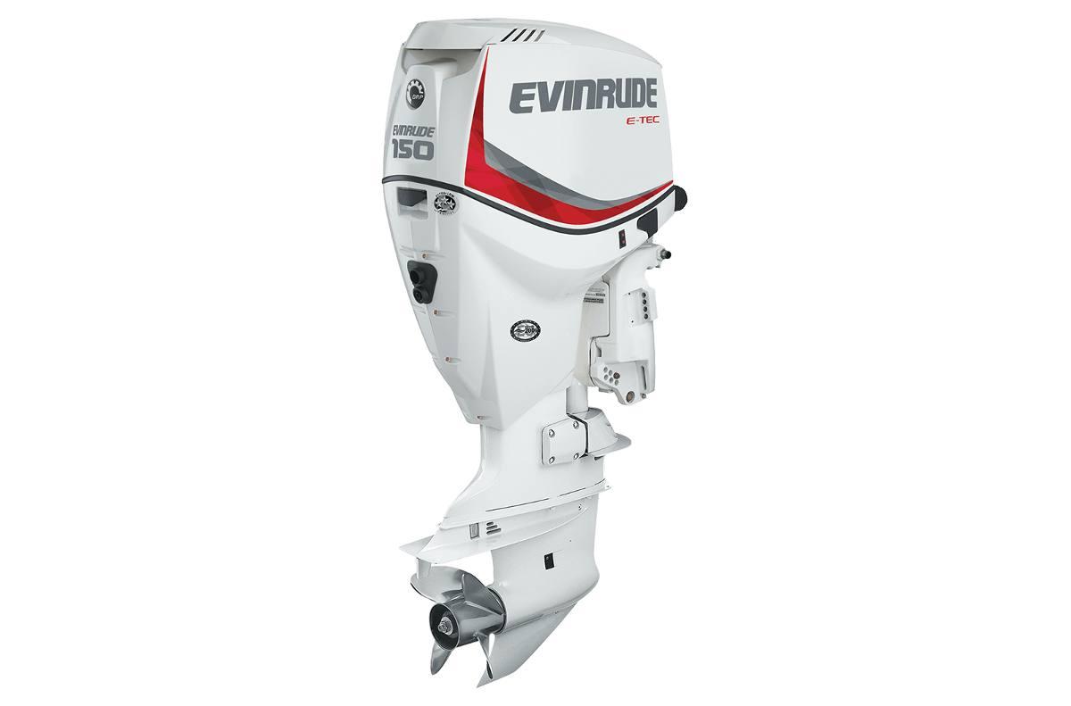 2016 evinrude e150dsl 150 hp white 20 shaft for sale in
