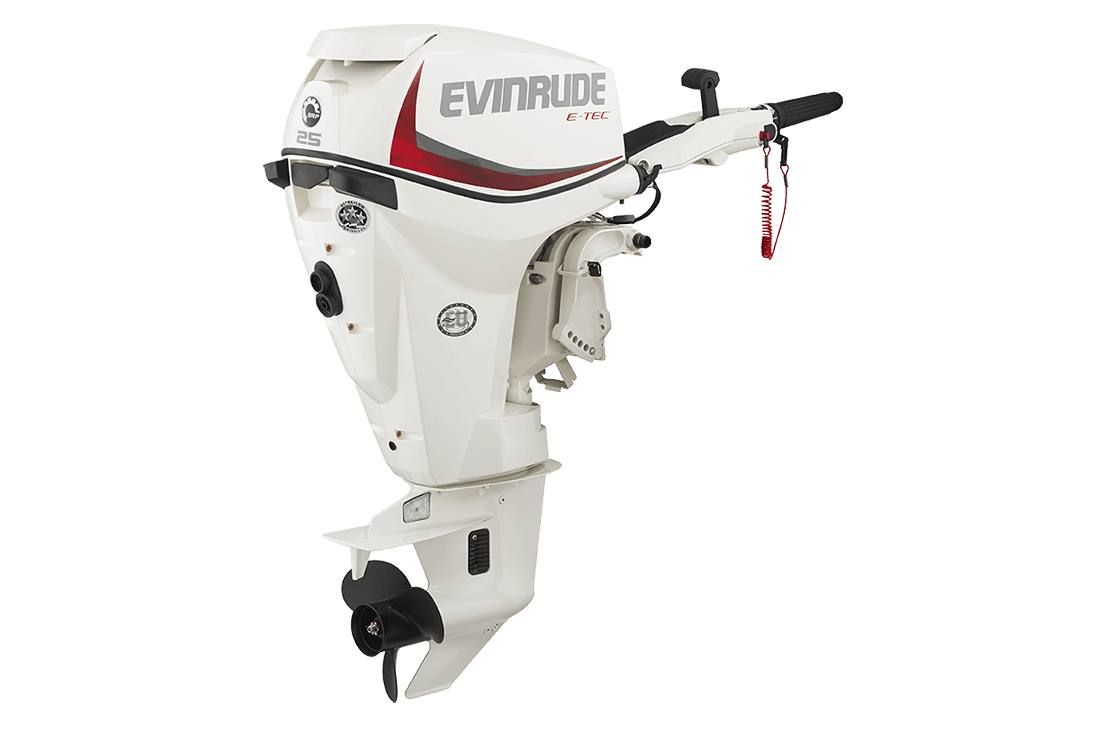 2016 Evinrude E25DRSL - 25HP White, 20