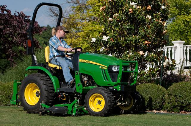 2 Family Compact Tractors