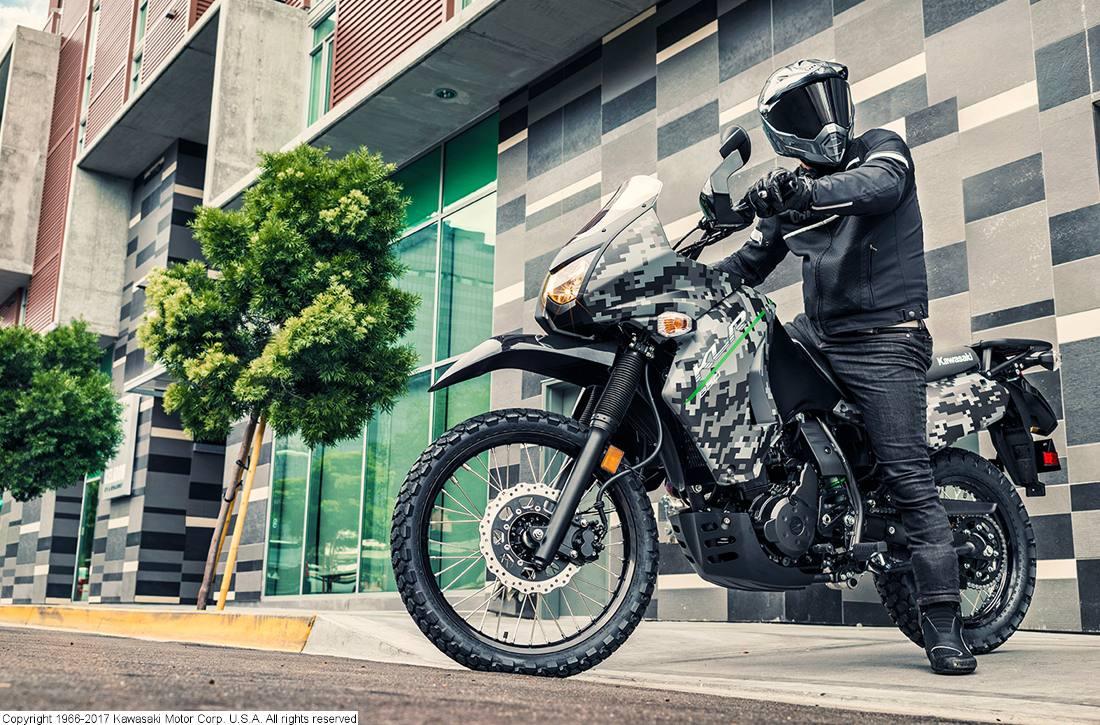 2017 Kawasaki Klr 650 Camo