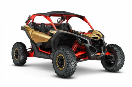 2017 Maverick X3 X rs - Gold Can-Am Red
