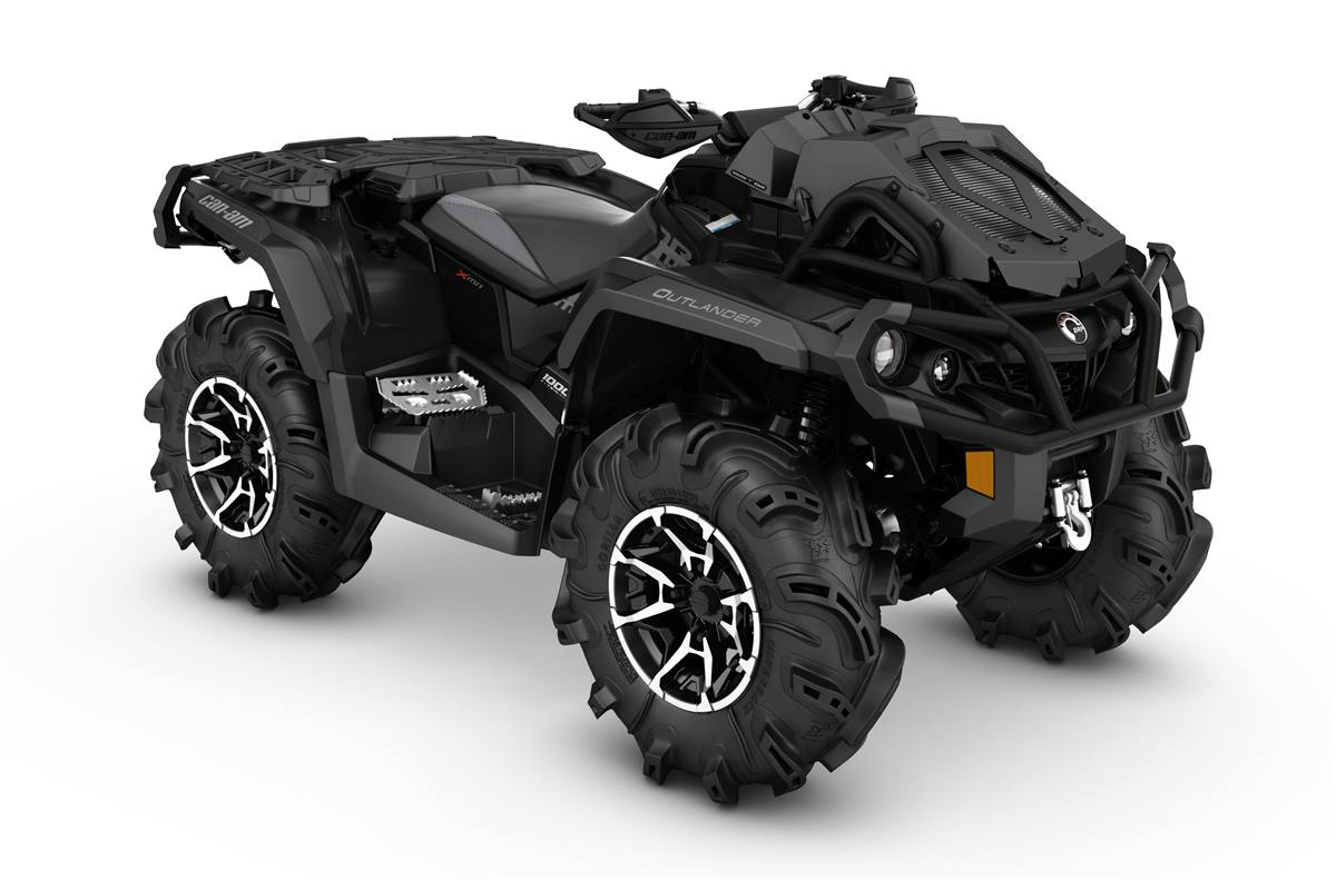 2017 Can Am Outlander X Mr 1000r Triple Black