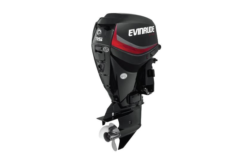 2017 Evinrude 115 Hp E115dgl Graphite For Sale In