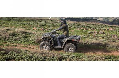 2017 Sportsman 450 H O EPS Sage Green
