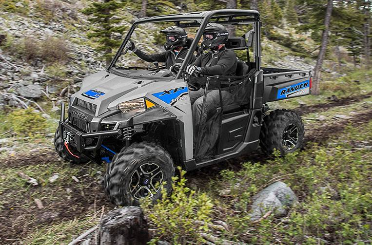 Polaris Ranger Xp 900 >> 2017 Polaris Industries Ranger Xp 900 Eps Silver Pearl