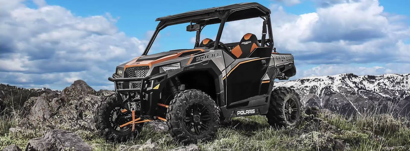 2017 polaris industries polaris general� 1000 eps deluxe titanium matte