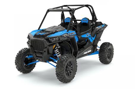 2017 RZR XP Turbo EPS - Velocity Blue