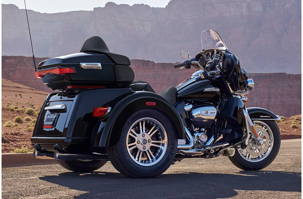 Harley Davidson Tri Glide >> 2017 Harley Davidson Flhtcutg Tri Glide Ultra