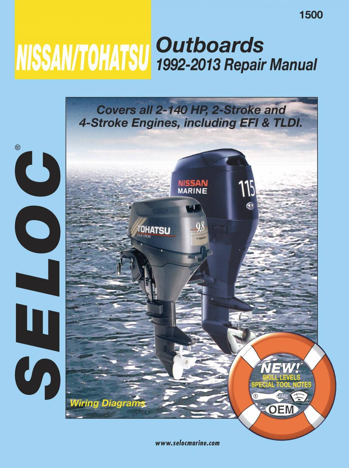 Marine Manuals for Nissan/Tohatsu Outboards for sale in New Smyrna Beach,  FL | Diamond Motors & Marine (386) 424-9000