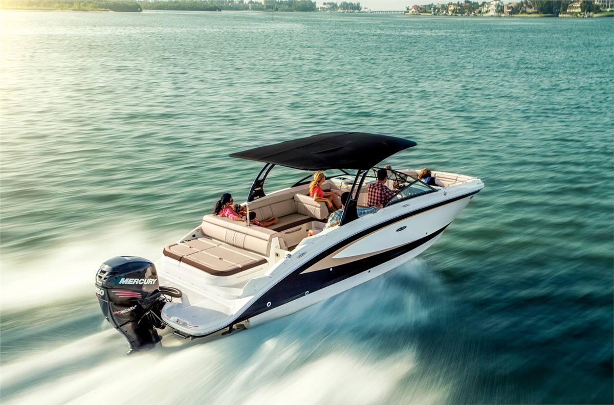 2017 Sea Ray SDX 270 Outboard for sale in St  Clair Shores, MI