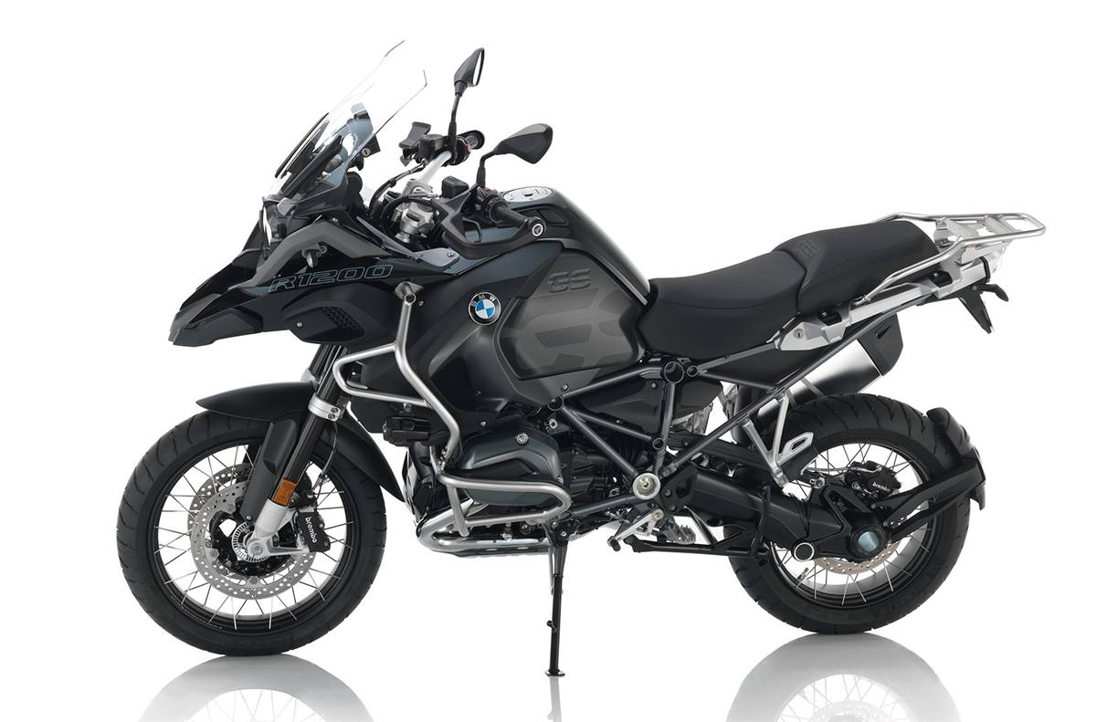 2017 bmw r 1200 gs adventure triple black for sale in falmouth, me