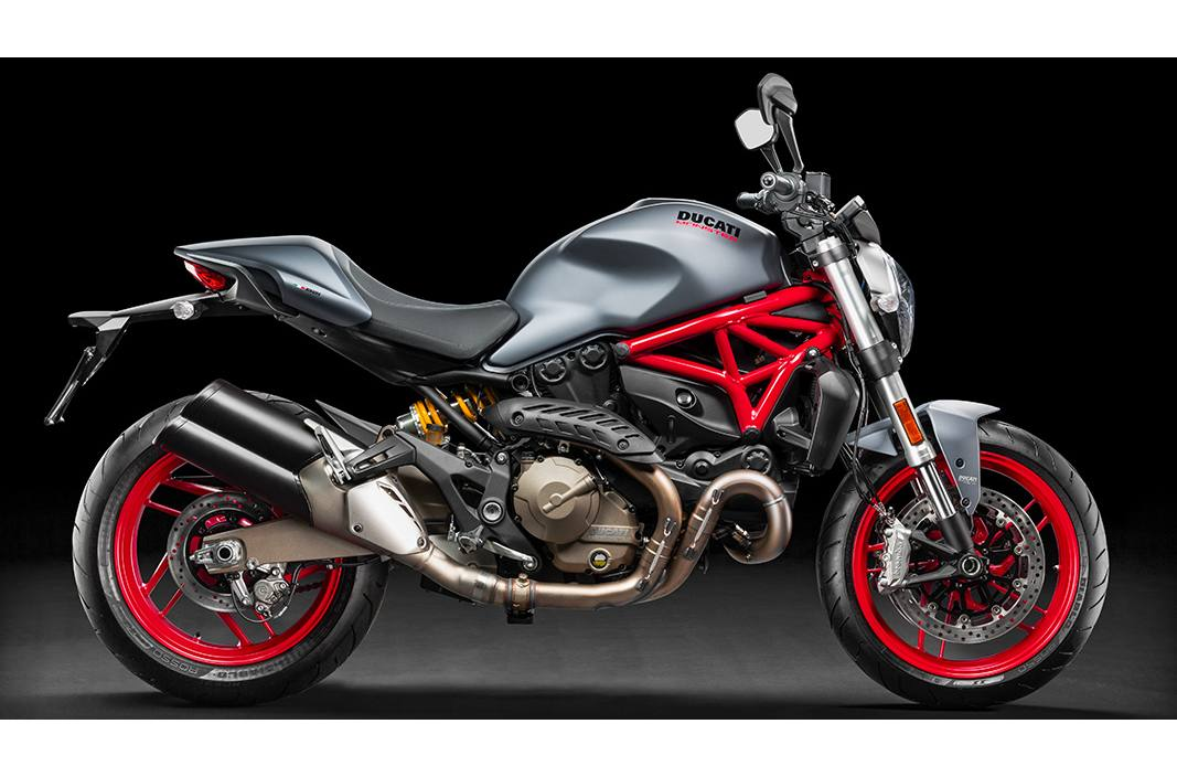 Ducati Monster 821 >> 2017 Ducati Monster 821 Dust Grey