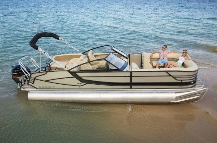 2017 Crest Pontoons Continental 270 NX-L (Single Outboard